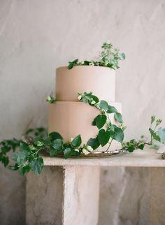 delicious wedding cake idea; photo: Jose Villa