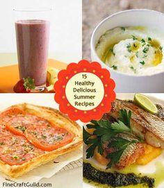 healthy snacks summer recipes