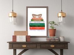 Excited to share the latest addition to my #etsy shop: Fashion Books Wall Art, Classic Books Printable, Modern Pop Art, Green Red Wall Art, Feminine Wall Art, Girly Wall Art, Glamour Wall Art