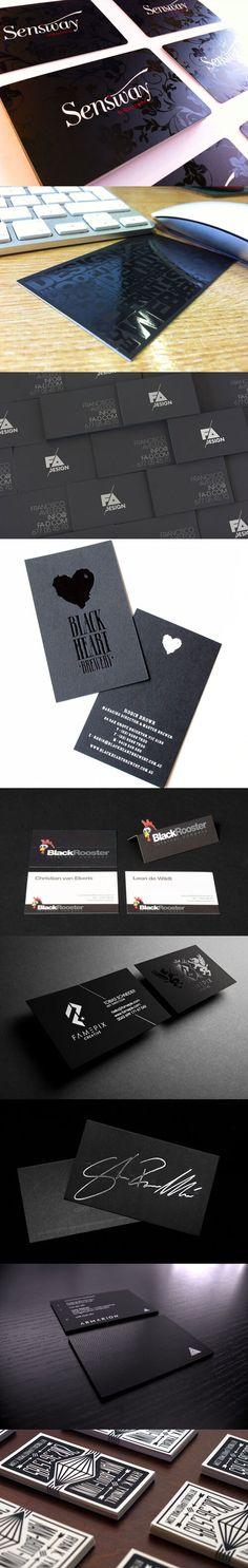 Black Business Card, Business Cards, Business Card Design Inspiration, Brand Board, Boards, Template, Digital, Planks, Visit Cards