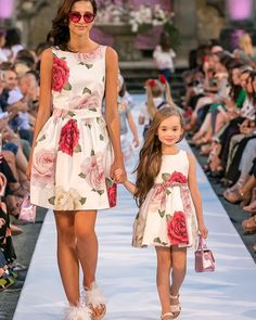 Image may contain: 2 people, people standing Mom And Baby Outfits, Mommy And Me Dresses, Dresses Kids Girl, Kids Outfits, Mom Daughter Matching Dresses, Mother Daughter Fashion, Baby Dress, Kids Fashion, Fashion Dresses
