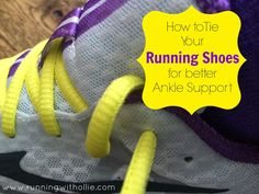 RUNNING WITH OLLIE: Turkey Trot Misadventures and Mizuno Wave Rider 17 Review ankle support shoe tie tying