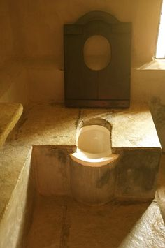 Ghandi-ji's Toilet in Wardha, India. Submitted by Ina Jurga.