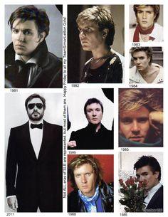 Simon through the years.