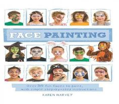 This book contains everything you need to start face painting! There's a huge…