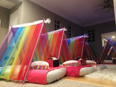 Best Backyard Party Tent Birthday Ideas - All For Garden Slumber Party Birthday, Fun Sleepover Ideas, Sleepover Birthday Parties, Girl Sleepover, Baby Party, Birthday Party Themes, Birthday Ideas, 10th Birthday, Teepee Party