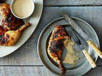 Grilled Chicken with Alabama White Barbecue Sauce - Genius Recipes sounds so onto good right now! Barbecue Sauce Recipes, Grilling Recipes, Real Cooking, Best Oven, Baker Recipes, Barbecue Chicken, Sweet Sauce, Food Science