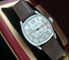 Men's 1929 Illinois Dress Wristwatch with Box   Strickland Vintage Watches