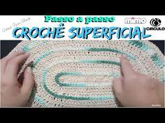 PASSO A PASSO CROCHÊ SUPERFICIAL- surface crochet - YouTube