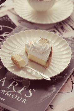 Lemon Meringue Pie with Love from Paris   Passion 4 baking :::GET INSPIRED:::