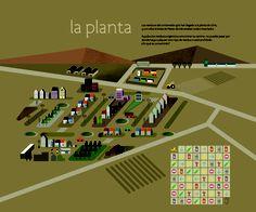 Panel en el que se explica qué se hace en la Planta de Llíria con los residuos orgánicos.