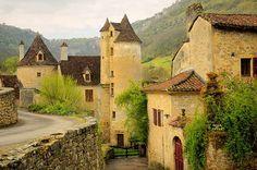 Medieval village-Autoire, France.