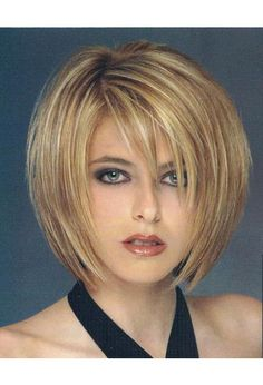 ... Short On Cute Sliced Layered Medium Layered Bob Hairstyles ...
