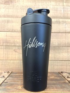 Custom Engraved insulated shaker bottle
