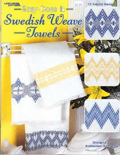 Swedish Weave Towels - Easy Does It