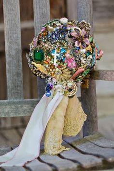 Miranda Lambert's wedding bouquet