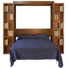 Bifold Bookcase Wall Bed | Stuart David Furniture