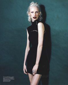 Lili Sumner by Hayley Bayliffe for Remix Magazine Goth, Lily, Ads, Magazine, Model, Inspiration, Style, Fashion, Gothic