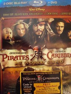 The BEST Of The Pirates Of The Caribbean Movies!! I LOVE At World's End <3 SO ROMANTIC <3