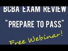 BCBA Exam Review  - repinned by @PediaStaff – Please Visit ht.ly/63sNtfor all our ped therapy, school & special ed pins