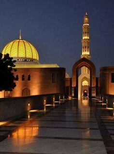 Jamia Masjid Muscat Oman