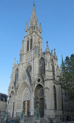 The old Cathedral in the Renaissance sector of Nancy, France