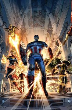 Avengers by Dustin Weaver *