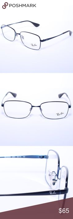 3d68eebe31 Ray ban rb 6336m 2510 53mm eyeglasses unisex blue