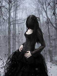 Gothic Sadness | gothic winter by Vin-Dunkelheit on DeviantArt