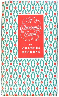 A Christmas Carol by Charles Dickens. Mt. Vernon, NY: The Peter Pauper Press. No date, 1950s.