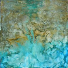 abstract art, oil painting, Coming Ashore Sharon Barfoot Art For Sale Online, Encaustic Art, Wow Art, Pour Painting, Heart Art, Traditional Art, Online Art Gallery, Art Lessons, Watercolor Paintings