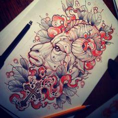 tattoo scetch by Vitaliy Morozov #tattoo #scetch