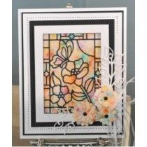 Sue Wilson - Stained Glass Collection - Butterfly