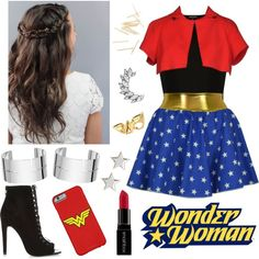 Wonder Woman look✨