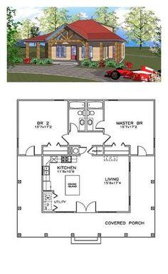 Small House Floor Plans, Cabin Floor Plans, Best House Plans, Modern House Plans, Cottage House Plans, Craftsman House Plans, Country House Plans, Cottage Homes, Craftsman Ranch