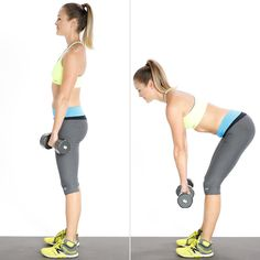 This easy-to-follow strength-training move will shape your upper and lower back and the backs of your legs, and it gives your booty a nice lift.