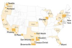 Where Migrant Children Are Being Held Across the U.S.