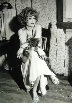 Anne Baxter in 1980 | Stirred, Straight Up, with a Twist: 3/1/11 - 4/1/11