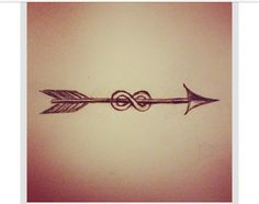 Bestfriend tattoo idea- love the arrow and the meaning: an arrow can only be shot forward by being pulled back. So when life is dragging you back with difficulties, it means that it's going to launch you into something great. So just focus, and keep aiming.