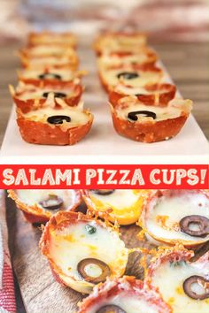Finger Food Appetizers, Yummy Appetizers, Appetizer Recipes, Snack Recipes, Salami Recipes, Snacks Für Party, Keto Snacks, Ketogenic Recipes, Low Carb Recipes