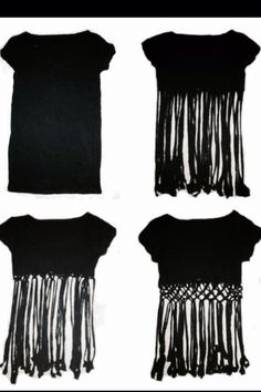 DIY #crop #fringe