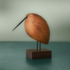 Fantastic Danish Woodwork - Beak Bird Design Collection Manufactured by Warm Nor. - Fantastic Danish Woodwork – Beak Bird Design Collection Manufactured by Warm Nordic Wooden Art, Wooden Crafts, Wood Animal, Wood Bird, Nordic Interior, Danish Interior, Interior Design, Wood Turning Projects, Lathe Projects