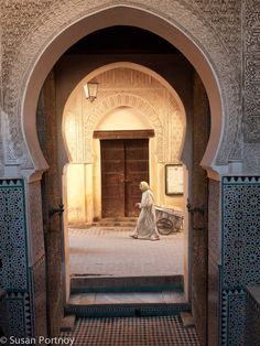 Fez in Marokko Winter 2004: rondreis koningssteden met Hedwig.