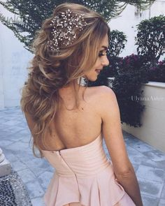 Ulyana Aster Long Bridal Hairstyles for Wedding_21 ❤ See More: http://www.deerpearlflowers.com/long-wedding-hairstyleswe-absolutely-adore/