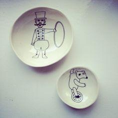 Children's plates by Martin markkinat