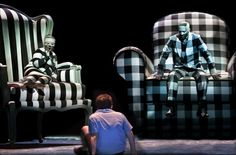 Opera Lively - Glyndebourne Ravel double bill - L'Heure Espagnole, L'Enfant et les Sortilèges Black and white patterned theme Set Design Theatre, Stage Design, Event Design, Theatre Stage, Theater, Stage Set, Scenic Design, Stage Lighting, Costume Design