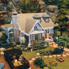 The Sims, Sims Cc, Sims 4 House Building, Sims House Plans, Architecture Building Design, Building Designs, Sims House Design, Sims Ideas, Sims 4 Build
