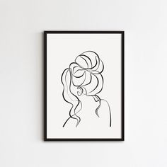 Female Face Drawing, Woman Drawing, Female Art, Drawing Women, Continous Line Drawing, Back Drawing, Canvas Art Projects, Poetry Art, Continuous Line