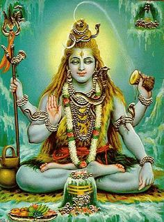 """Shiva (meaning """"auspicious one"""") is a major Hindu deity, and is the destroyer God or transformer among the Trimurti, the Hindu Trinity of the primary aspects of the divine. God Shiva is a yogi who has notice of everything that happens in the world and is the main aspect of life."""