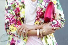 16 Spring Inspirations: flowers, statement jewels and sexy details...